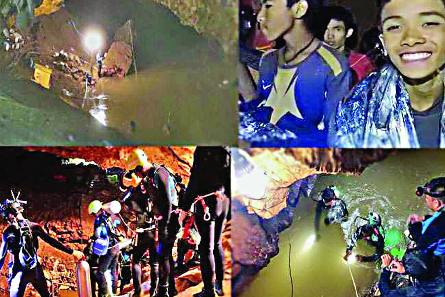Winner, Trusts, Himself, Thailand Cave