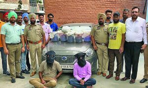 Arrested, Drug Smuggler, Opium, Punjab Police