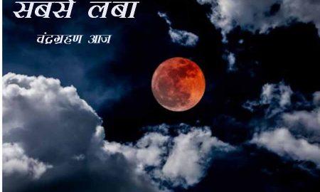 Longest, Lunar Eclipse, Today