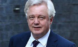 Britain, Minister, David, Davis, Resigns