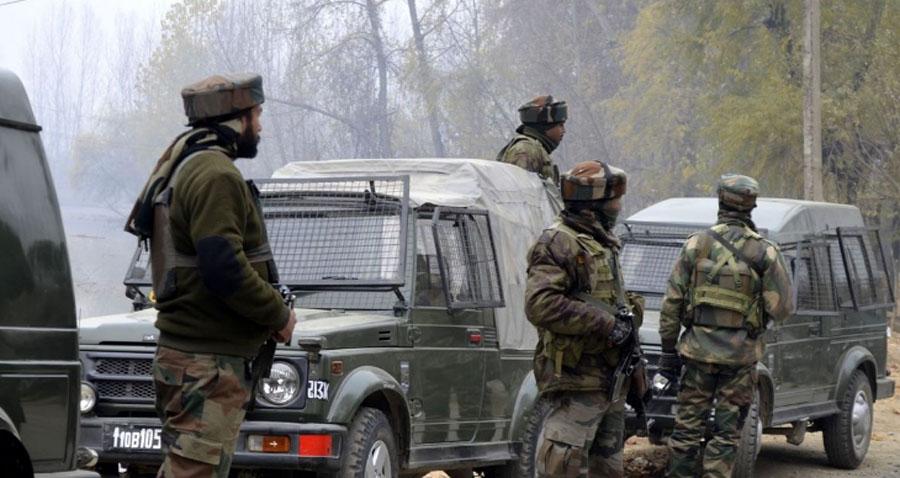 Jamu-Kashmir, Encounter, Security, Forces, Terrorists