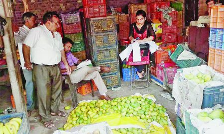Health Department, spices, Warehouse, Mango, Punjab