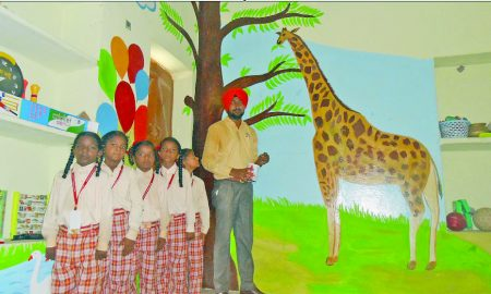 Punjab: Teacher Rajendra Singh, Making, Difference Beautification, Govt School