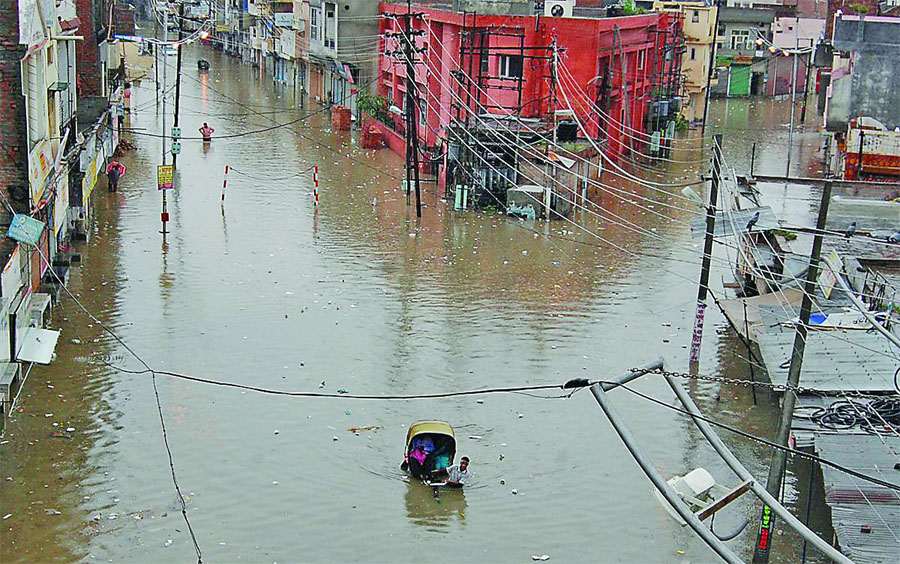 Heavy Rain, Bhathinda, Punjab