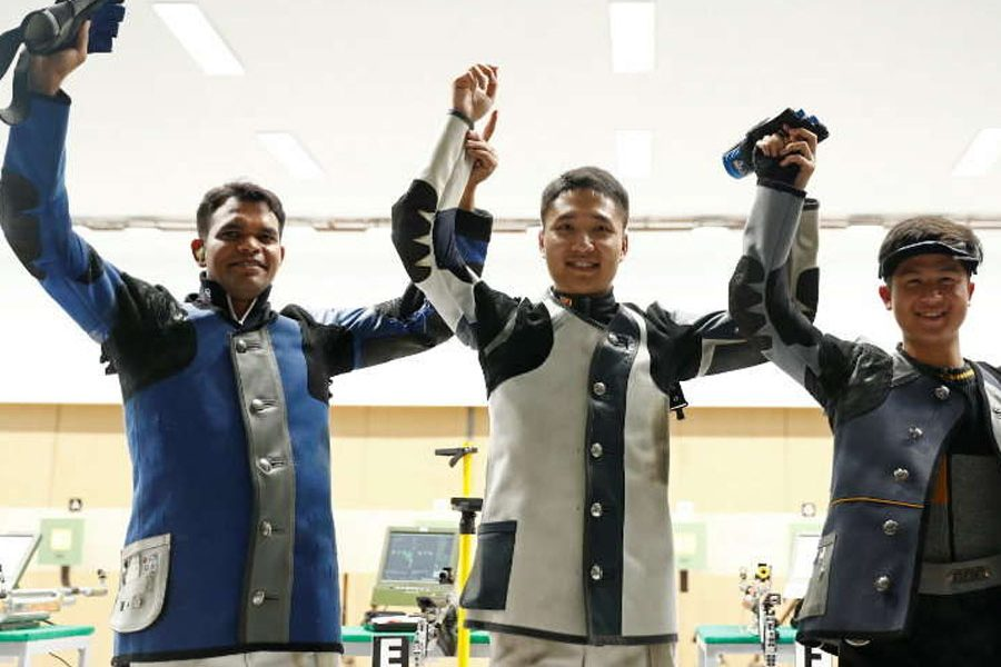 Asiad: Shooter Deepak Kumar gave India the first medal of second day
