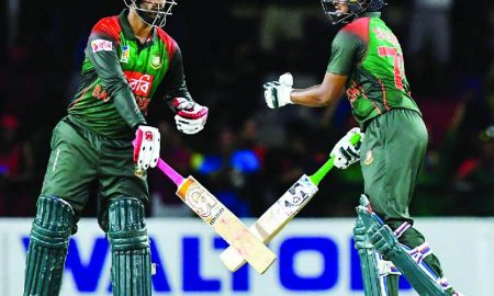 Bangladesh, Thrash, West Indies, Second, Twenty20 Match