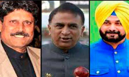 Kapil Dev, Sunil Gvaskar, Navjot Singh Sidhu, Ceremony, Imran Khan