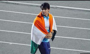 Neeraj won gold: