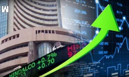 Sensex at record high of 37712
