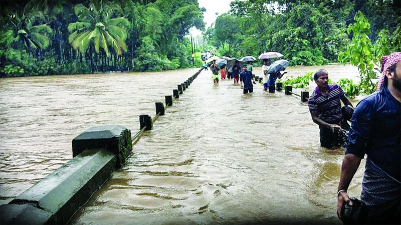 Cause, Kerala water, fallout, humanm, intervention, artical