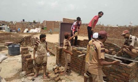 Dera Followers, Needy Family, Welfare Works, Dera Sacha Sauda, Saint Dr. MSG