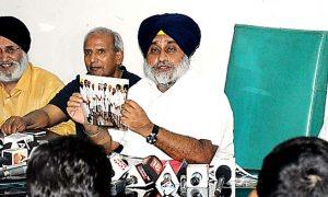 Justice, Ranjit Singh, blamed, Report, Sukhbir Badal, Punjab