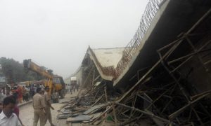National, High-way, Flyover, Deck, Slab, Dropped, Four, Injured