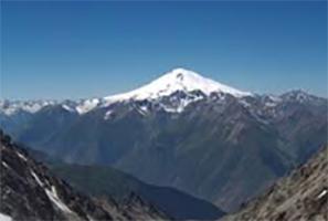 Europe highest peak Elbrus