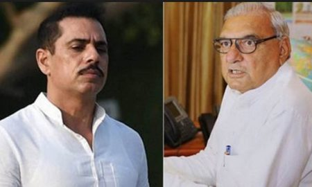 FIR against Robert Vadra, bhupinder singh huda
