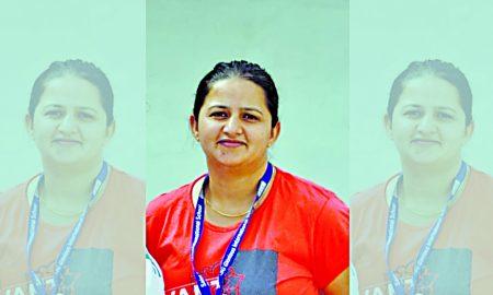 Pooja Mallick insan Coach Of Indian Roller Skating Team