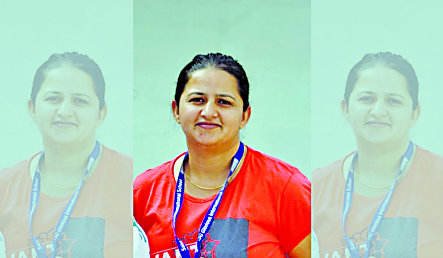 Pooja Mallick insan Coach Of Indian Roller Skating Team
