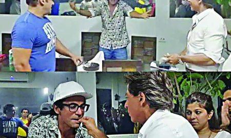 Salman-Shahrukh celebrated the birthday of Sunil Grover