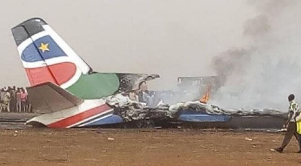 South, Sudan, Airplane, Crash, incident, six, die