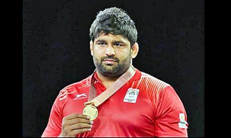 Commonwealth, gold, winner, Sumit, mats, dust, Georgian, wrestler