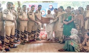 Dera Devotees Distributed 16 Needy Ration To The Needy