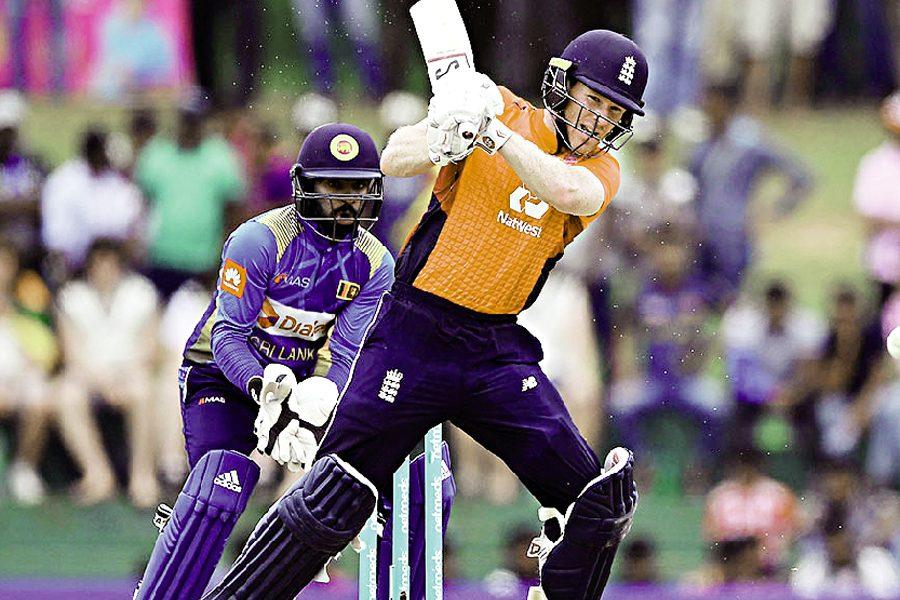 England won by 31 runs in a rain-affected match against Lanka