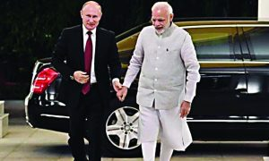 Russian, President, Vladimir Putin, Meets, PM , Modi