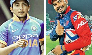 Prithvi And Rishabh Bounce In ICC Batting Rankings