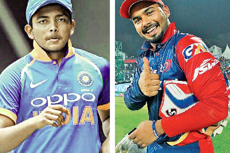Prithvi And Rishabh Bounce In ICC Batting Rankings
