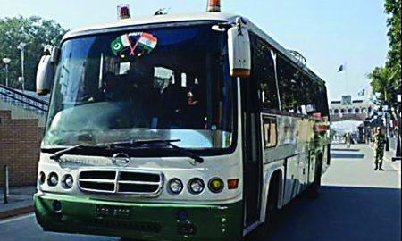 Caravan-e-Aman, Bus, Service, Resumes