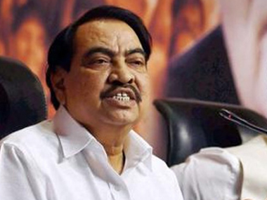 Eknath Khadse Left BJP