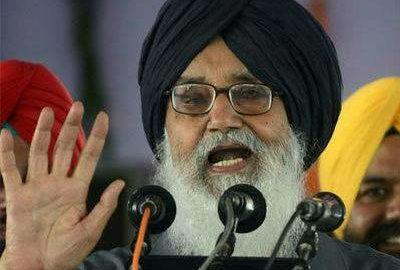 Parkash Singh Badal, Navjot Singh Sidhu, Debate, Punjab