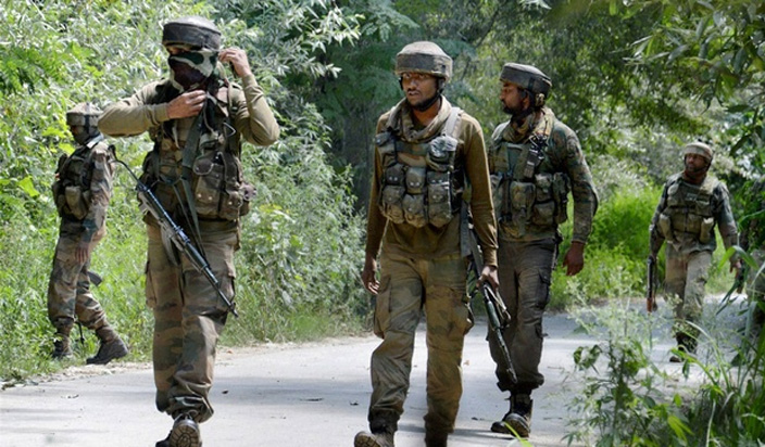 Indian Army, Three Militant, Kashmir, Encounter