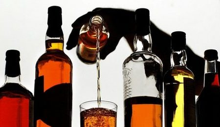 Crime News, Container, Caught, Alcohol