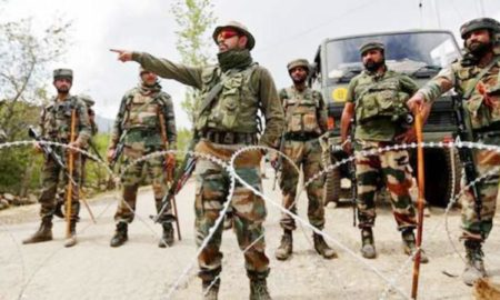 J & K, Terrorist, Attack, Army Convoy, Firing