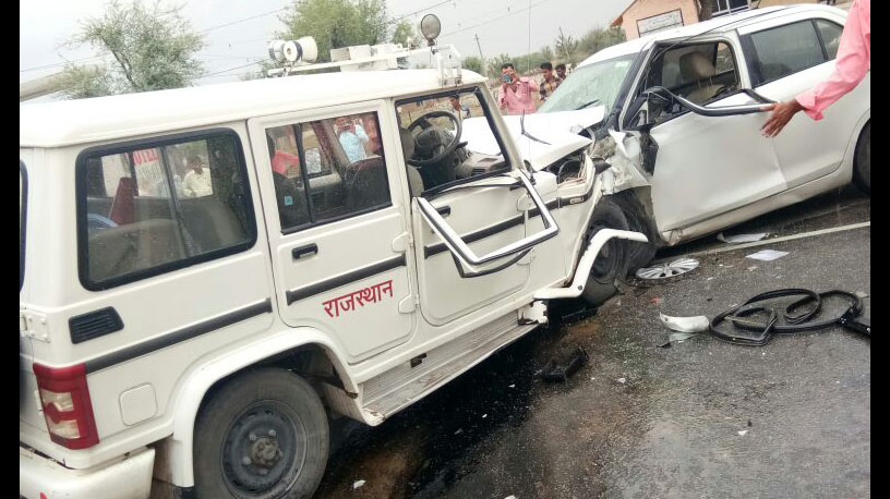 Death, Magistrate, Road Accident, Injured, Police, Rajasthan
