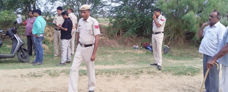 Murder, Shoot, Crime, Police, Field, Haryana