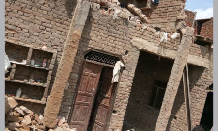 Death, Woman, Falling House, Injured, Haryana