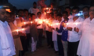 Candle March, Traders, Rage, Textile Market, GST, Rajasthan