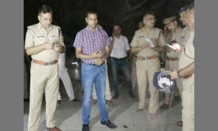 Murders, BJP, Leader, Crime, Villagers, Fire, PRB Van, Raised
