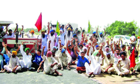Villagers, Strike, Punjab Govt, District Administration, Raised, HighwayRoad