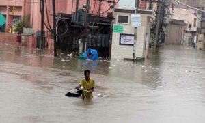 Torrential Rain, Death, Flooding, Electric Shock, Punjab