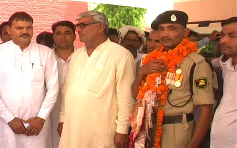 BSF, Presidential Police Gallantry, Medal, Haryana