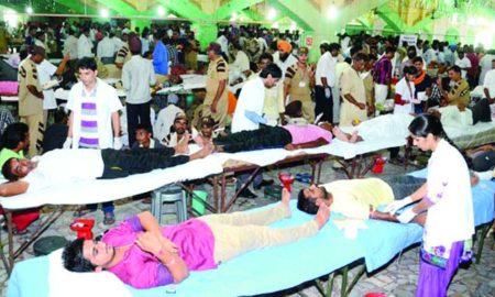 Saving Life, True Blood Pump, Dera Sacha Sauda, Gurmeet Ram Rahim