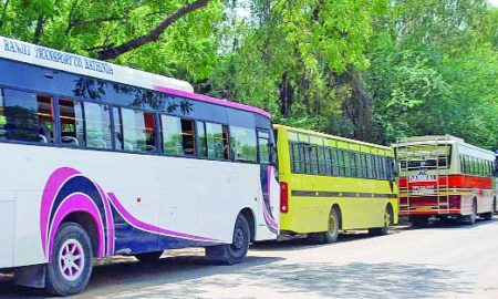 Surgical Strike, Illegal Buses, Permit, Checking, Barnala, Punjab