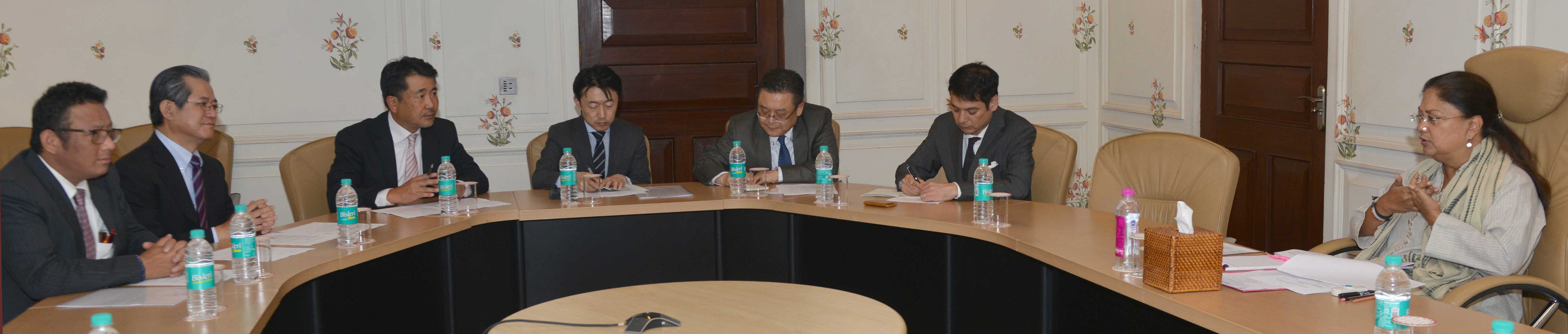 Partnership, Japan, Vasundhara Raje, Million, Investment, Rajasthan