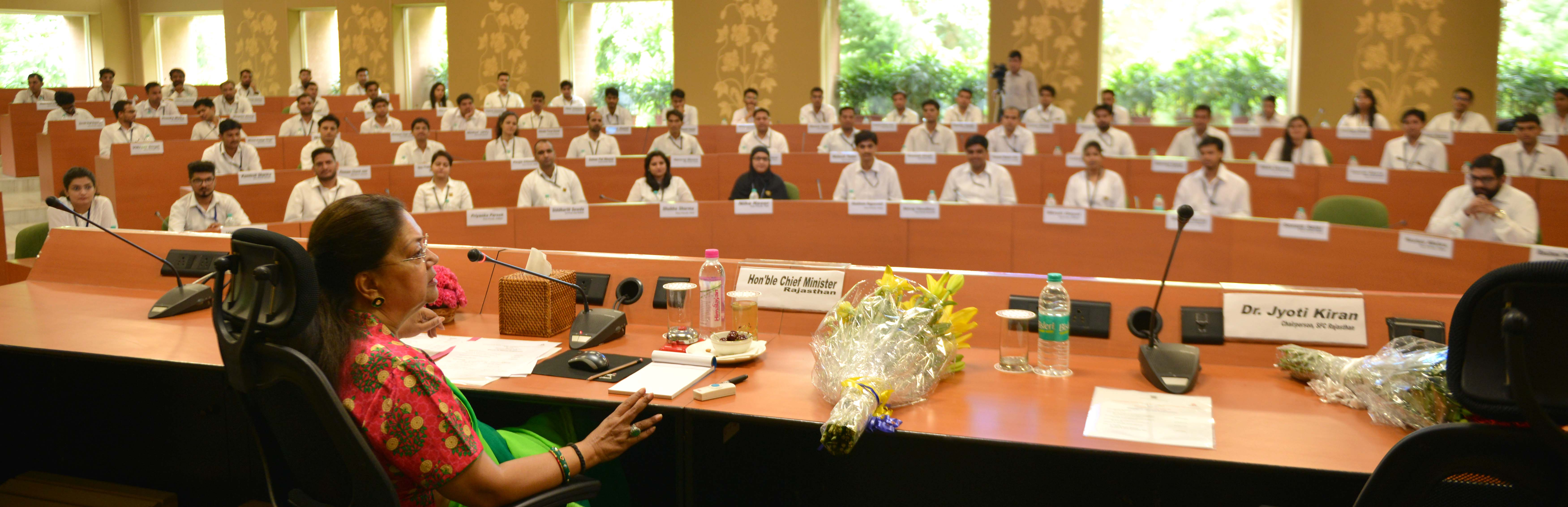 Expectations, Country, Youth, Vasundhara Raje, Program, Launch, Rajasthan
