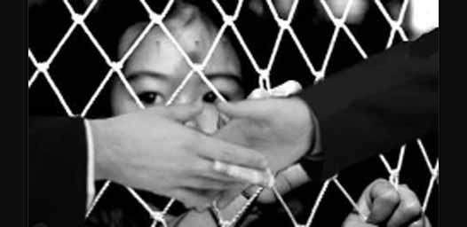 Child, Victim, Human Trafficking, India, Nepal