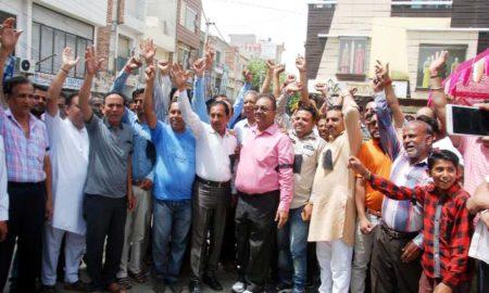 Cloth Merchants, Strike, GST, Raised