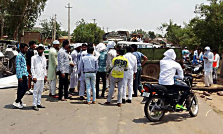 Villagers, Protest, Electricity, Department, Raised, Strike, Haryana